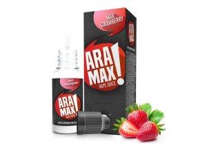 E-liquid Aramax 10ml / 0mg: Jahoda (Max Strawberry)