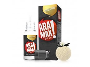 E-liquid Aramax 10ml / 0mg: Vanilka (Vanilla Max)