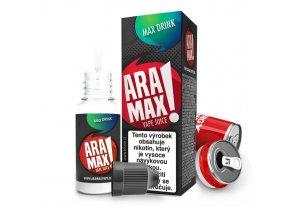 E-liquid Aramax 10ml / 6mg: Energy drink (Max Energy)