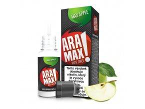 E-liquid Aramax 10ml / 6mg: Jablko (Max Apple)