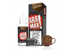 E-liquid Aramax 10ml / 12mg: Káva (Coffee Max)