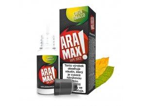 E-liquid Aramax 10ml / 18mg: Green Tobacco (Tabák)