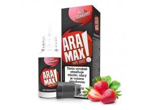 E-liquid Aramax 10ml / 18mg: Jahoda (Max Strawberry)