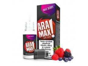 E-liquid Aramax 10ml / 18mg: Lesní plody (Max Berry)