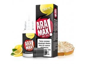 E-liquid Aramax 10ml / 6mg: Citronový koláč (Lemon Pie)