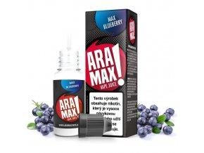 E-liquid Aramax 10ml / 6mg: Borůvka (Max Blueberry)