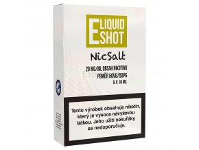 E-liquid Shot - Booster - NicSalt - 50/50 - 20mg - 5x10ml