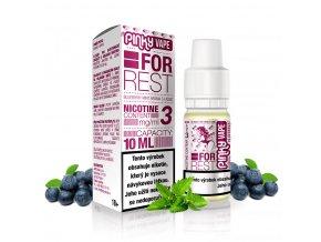 Pinky Vape - E-liquid - 10ml - 3mg - For Rest (Borůvka & máta)