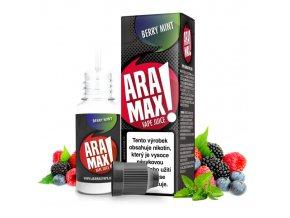 E-liquid Aramax 10ml / 6mg: Bobulovitý mix s mátou (Berry Mint) (EXP: 04/2021)