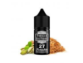 Příchuť Tobacco Bastards: No. 27 Pistachio (Tabák s pistácií) 10ml