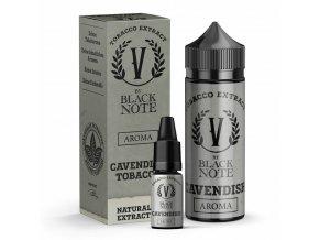 V by Black Note - Příchuť - Cavendish Tobacco (Tabáková směs) - 10ml