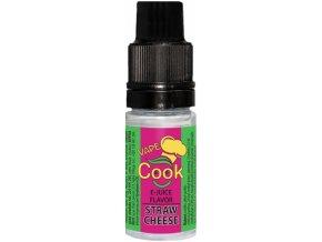 Příchuť VAPE COOK Straw Cheese po exp.