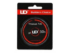 UD Ti odporový drát 28ga 0,3mm 10m