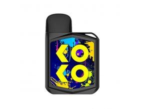 Elektronická cigareta: Uwell Caliburn KOKO PRIME Pod Kit (690mAh) (Černá)