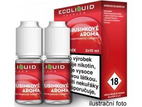 Liquid Ecoliquid Premium 2Pack Cranberry 2x10ml - 18mg (Brusinka)  + dárek zdarma