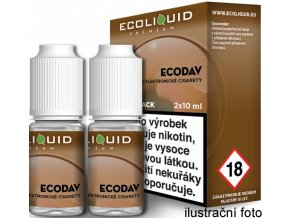 Liquid Ecoliquid Premium 2Pack ECODAV 2x10ml - 3mg