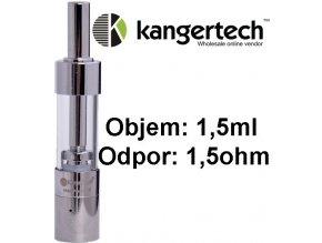Kangertech Mini Protank 3 clearomizer 1,5ohm 1,5ml Clear - upgrade coil  + dárek zdarma