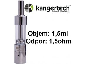 Kangertech Mini Protank 3 clearomizer 1,5ohm 1,5ml Clear - upgrade coil  + dárek zdarma