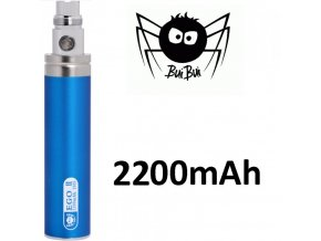 BuiBui GS eGo II baterie 2200mAh Blue  + dárek zdarma