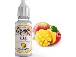 Příchuť Capella 13ml Sweet Mango (Mango)  + DÁREK ZDARMA
