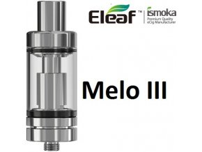 iSmoka-Eleaf Melo 3 clearomizer Silver