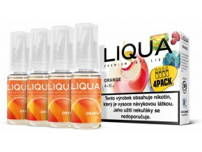 Liquid LIQUA CZ Elements 4Pack Orange 4x10ml 6mg (Pomeranč)