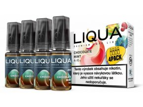 LIQUA MIX 4Pack Chocolate Mint 10ml 3mg