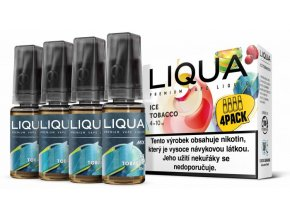 Liquid LIQUA CZ MIX 4Pack Ice Tobacco 10ml-6mg  + DÁREK ZDARMA