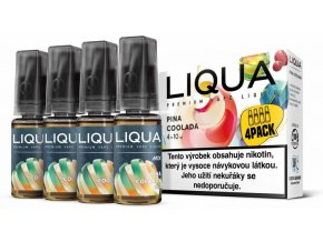 LIQUA MIX 4Pack Pina Coolada 10ml 3mg