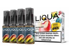 LIQUA MIX 4Pack Shisha Mix 10ml 6mg
