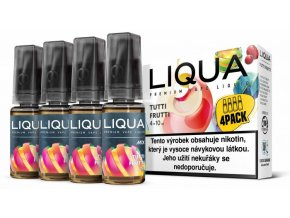 LIQUA MIX 4Pack Tutti Frutti 10ml 3mg