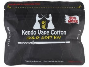 Kendo Cotton Gold Edition Japonská organická bavlna  + DÁREK ZDARMA