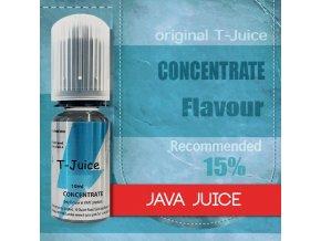 Příchuť T-Juice Java Juice 10ml  + DÁREK ZDARMA