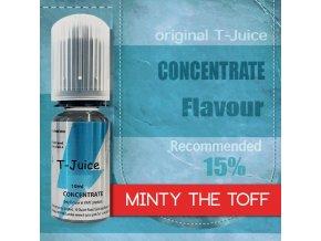 Příchuť T-Juice Minty the Toff 10ml  + DÁREK ZDARMA