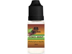Příchuť IMPERIA 10ml Choco mint (Čokoláda s bílým mentolem)  + dárek zdarma