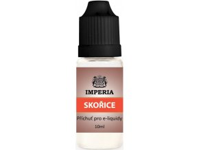 Příchuť IMPERIA 10ml Cinnamon (Skořice)  + dárek zdarma