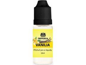 Příchuť IMPERIA 10ml Vanilla (Vanilka)  + dárek zdarma