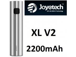 Joyetech eGo ONE XL V2 baterie 2200mAh Silver  + dárek zdarma
