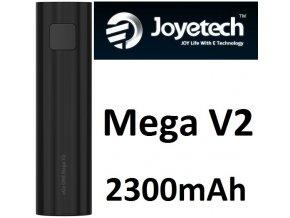 Joyetech eGo ONE Mega V2 baterie 2300mAh Black  + dárek zdarma