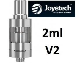 Joyetech eGo ONE V2 clearomizer 2ml Silver  + dárek zdarma