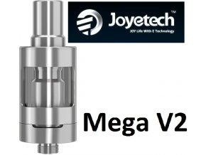 Joyetech eGo ONE Mega V2 clearomizer 4ml Silver  + dárek zdarma