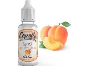 Příchuť Capella 13ml Apricot (Meruňka)  + dárek zdarma