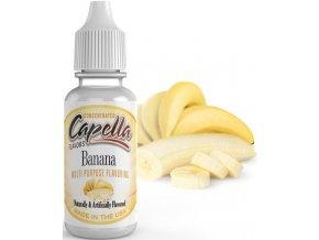 Příchuť Capella 13ml Banana (Banán)  + dárek zdarma