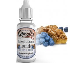 Příchuť Capella 13ml Blueberry Cinnamon Crumble