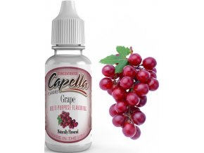 Příchuť Capella 13ml Grape (Hroznové víno)  + dárek zdarma