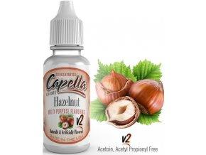 Příchuť Capella 13ml Hazelnut v2 (Lískový oříšek)  + dárek zdarma