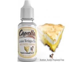 Příchuť Capella 13ml Lemon Meringue Pie v2 (Sněhový koláč s citrónem)