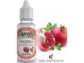 Příchuť Capella 13ml Pomegranate v2 (Granátové jablko)