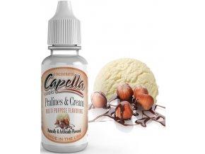 Příchuť Capella 13ml Pralines and Cream (Pralinková zmrzlina)  + dárek zdarma