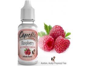 Příchuť Capella 13ml Raspberry v2 (Malina)  + dárek zdarma